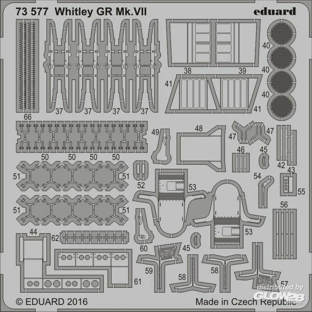 Eduard Accessories 73577 Whitley GR Mk.VII for Airfix in 1:72