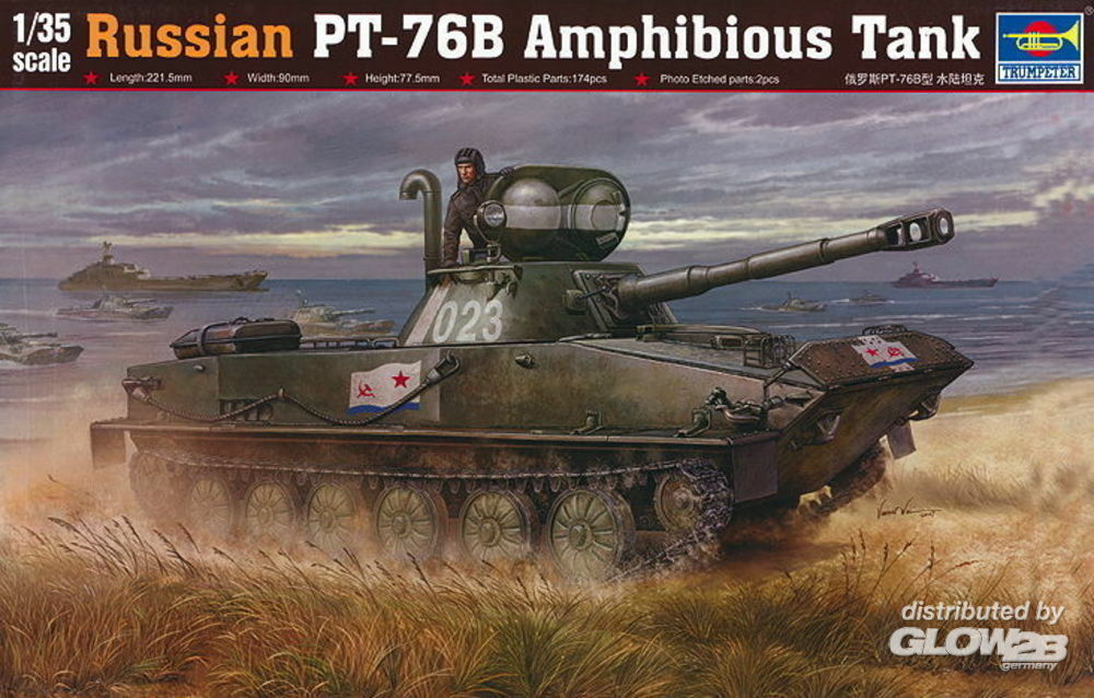 Trumpeter 00381 Russian PT-76B in 1:35