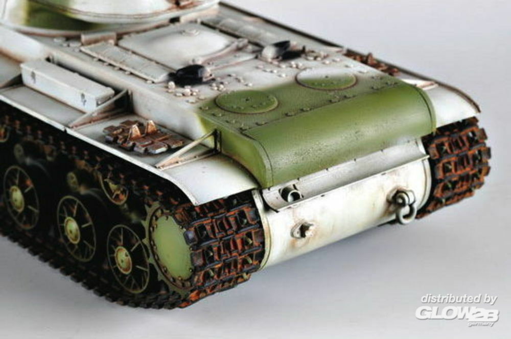 Trumpeter 00359 Russland KV-1 (1942) Heavy Gust Turret Tank in 1:35