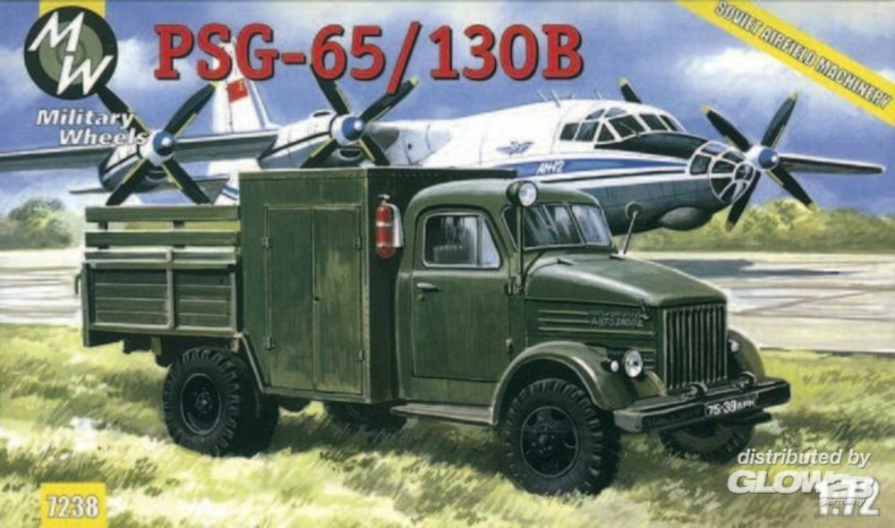 Military Wheels MW7238 PSG-65/130B on the GAZ-51 in 1:72