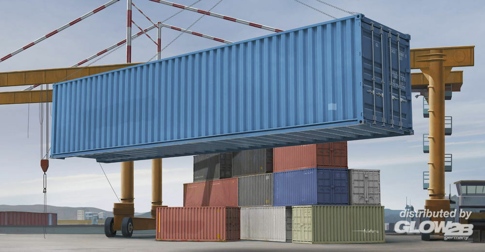 Trumpeter 01030 40ft Container in 1:35