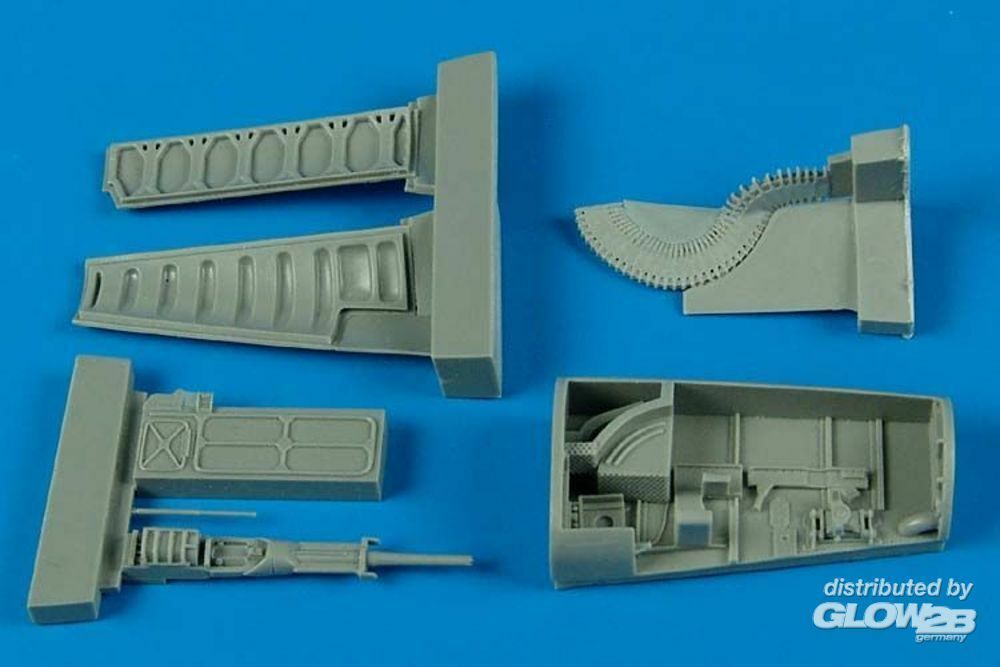Aires 4536 F-5E Tiger II gun bay for AFV-Club in 1:48