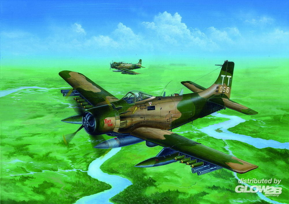 Trumpeter 02254 A-1J AD-7 Skyraider in 1:32