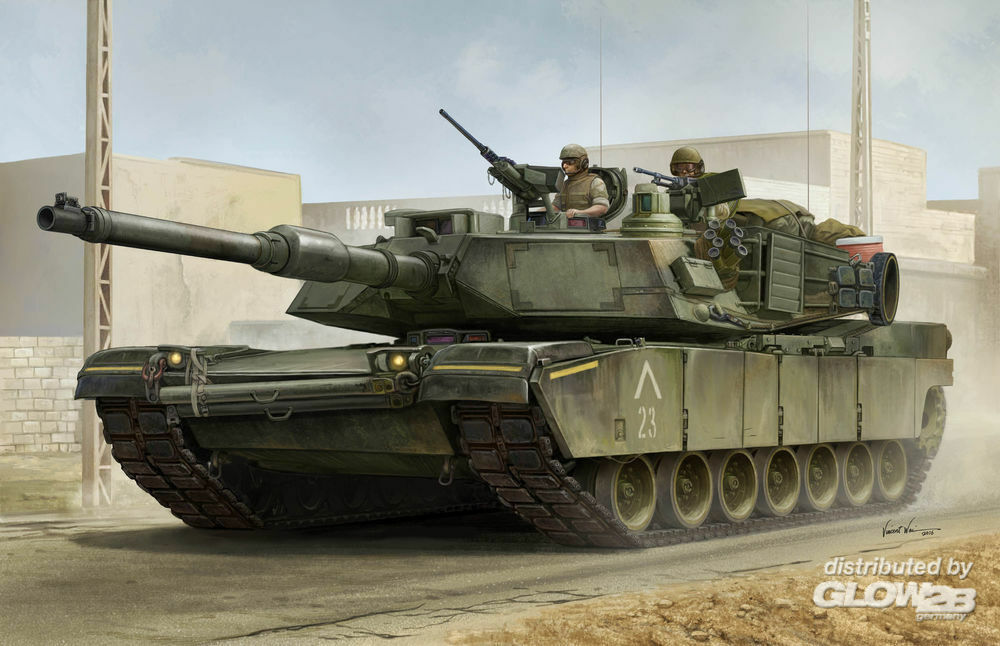 Trumpeter 00926 US M1A1 AIM MBT in 1:16