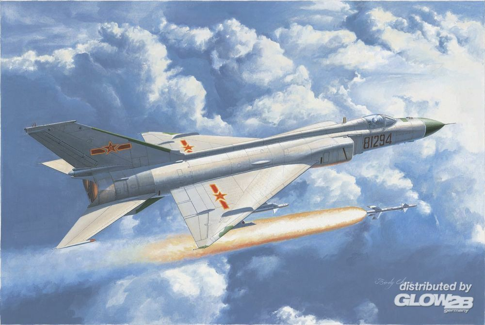 Trumpeter 02846 Chinese J-8IID fighter in 1:48