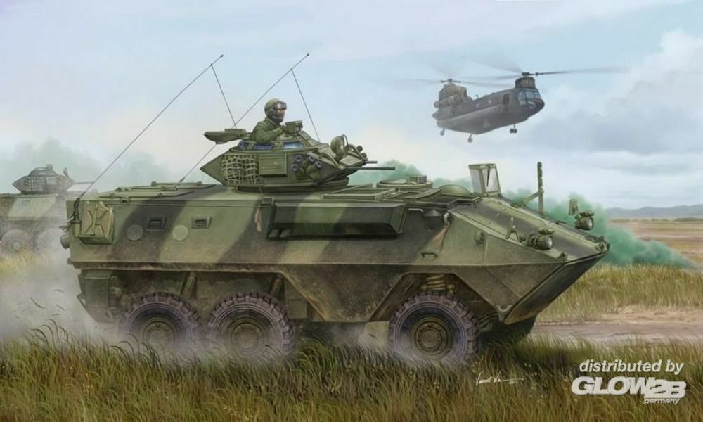 Trumpeter 01502 Canadian Grizzly 6x6 APC in 1:35