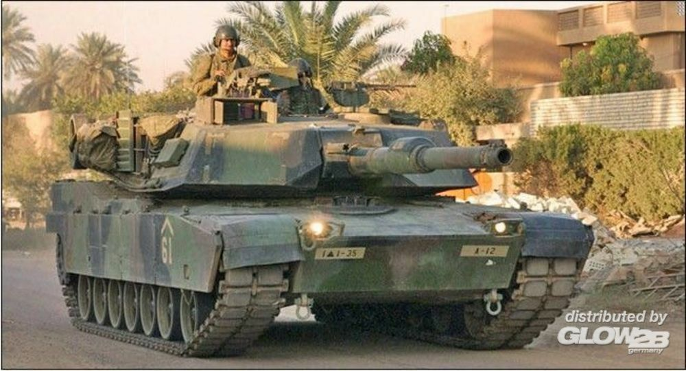 Trumpeter 07276 M1A1 Abrams MBT in 1:72