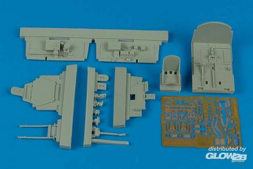 Aires 4476 P-47M Thunderbolt cockpit set for Tamiya in 1:48