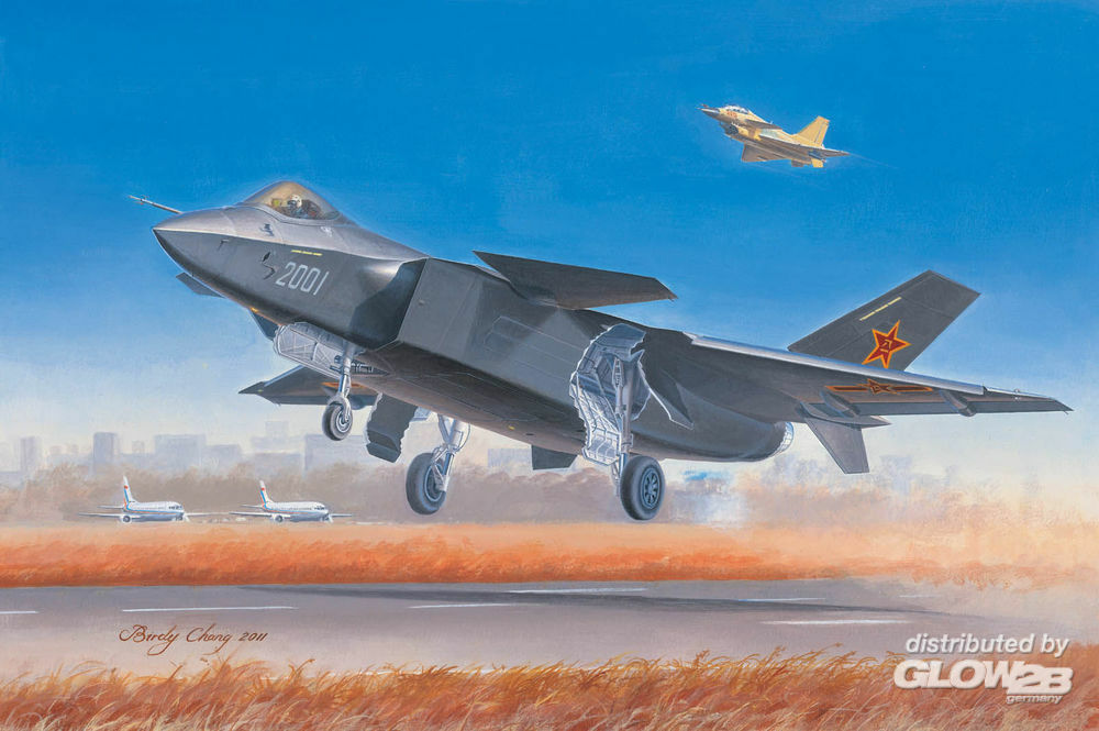 Trumpeter 01663 Chinese J-20 Fighter in 1:72