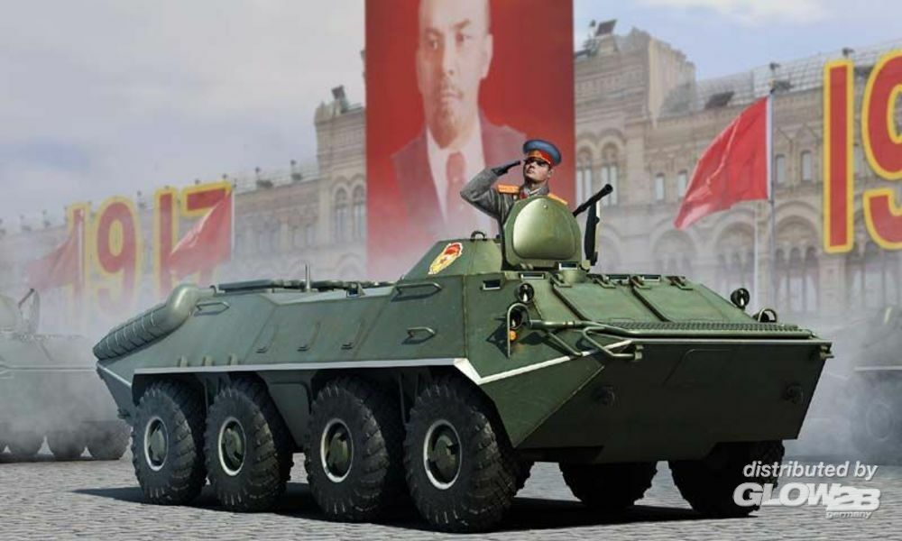Trumpeter 01590 Russian BTR-70 APC early version in 1:35