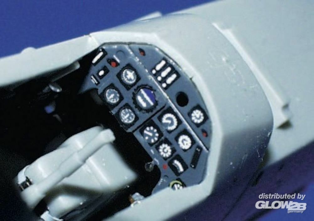 Eduard Accessories FE211 Bf-109-G-6 in 1:48