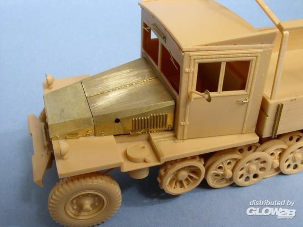 Lion Roar-GreatwallHobby LE35055 German 3 Ton Half-track (Late Version) Sd.kfz.11 /w punch parts for AFV Club in 1:35