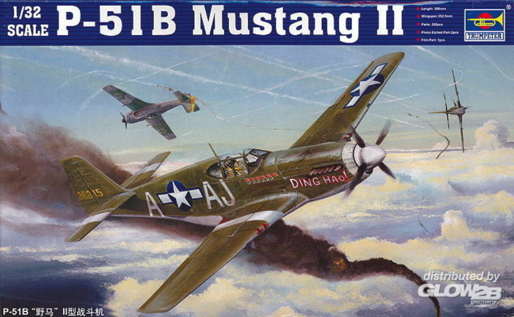 Trumpeter 02274 Mustang P-51B in 1:32