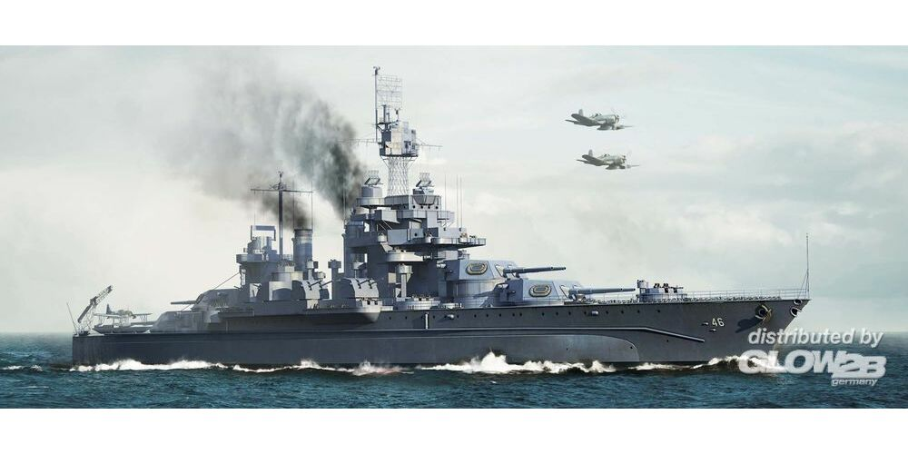 Trumpeter 05770 USS Maryland BB-46 1945 in 1:700