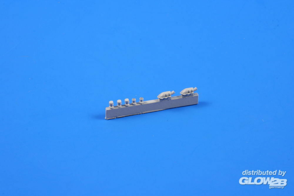 CMK 129-B72086 T-34/85 Exhausts and periscopes in 1:72