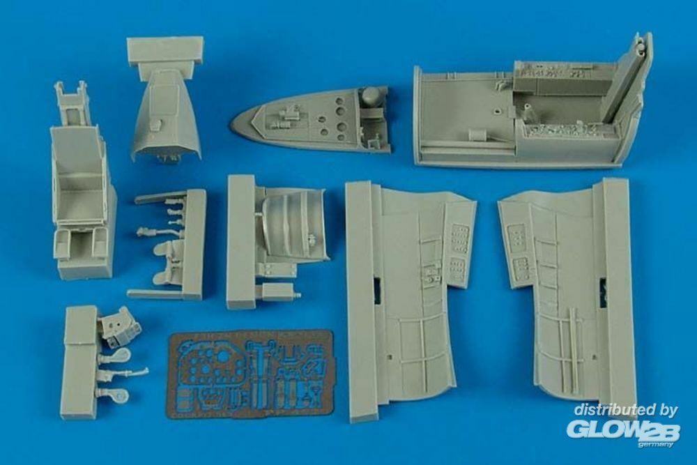 Aires 4529 F3H-2 Demon cockpit set for Hobby Boss in 1:48