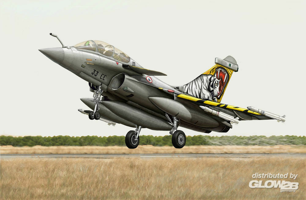 Trumpeter 03913 French Rafale B in 1:144