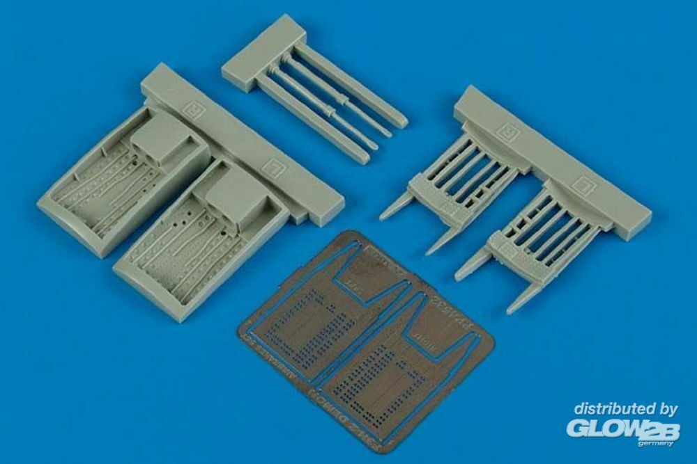 Aires 4532 F3H-2 Demon air brake set for Hobby Boss in 1:48