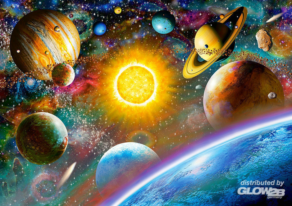 Castorland B-52158 Outer Space, Puzzle 500 Teile