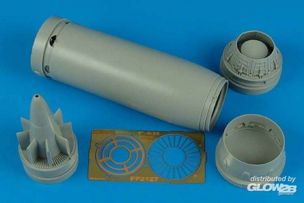Aires 2127 F-8N Crusader exhaust nozzle (TRU) in 1:32