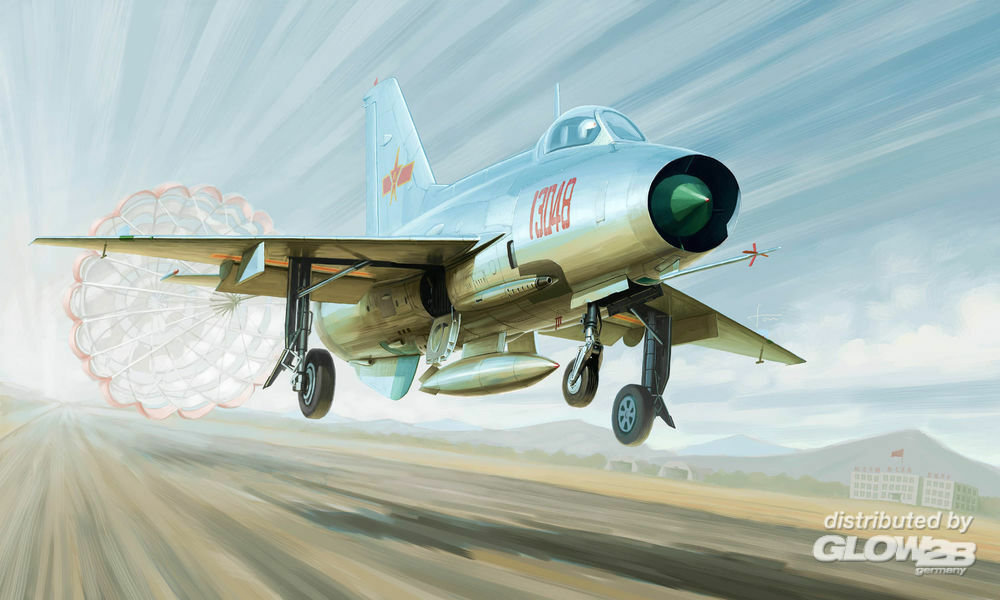 Trumpeter 02859 J-7A Fighter in 1:48
