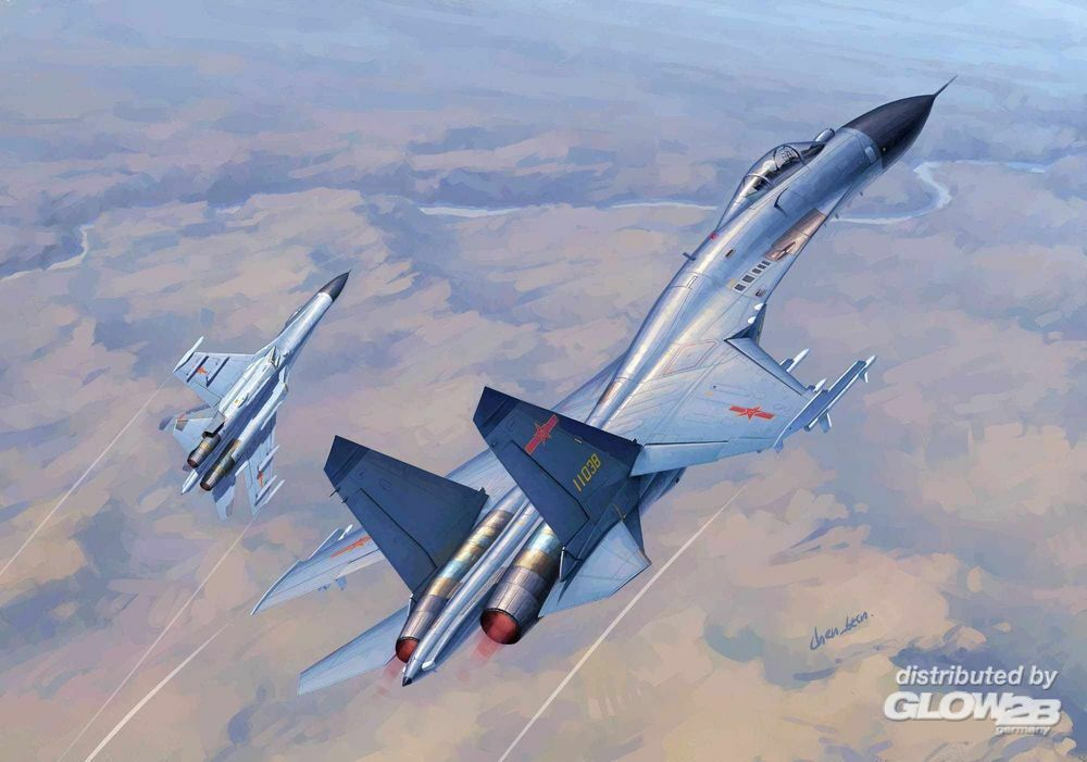 Trumpeter 01662 Chinese J-11B Fighter in 1:72
