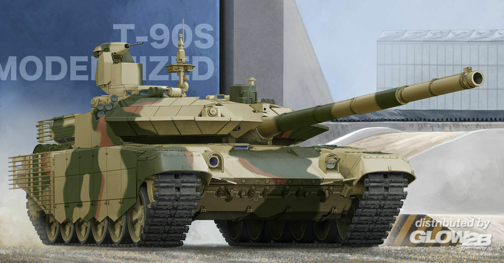 Trumpeter 05549 Russian T-90S Modernise in 1:35