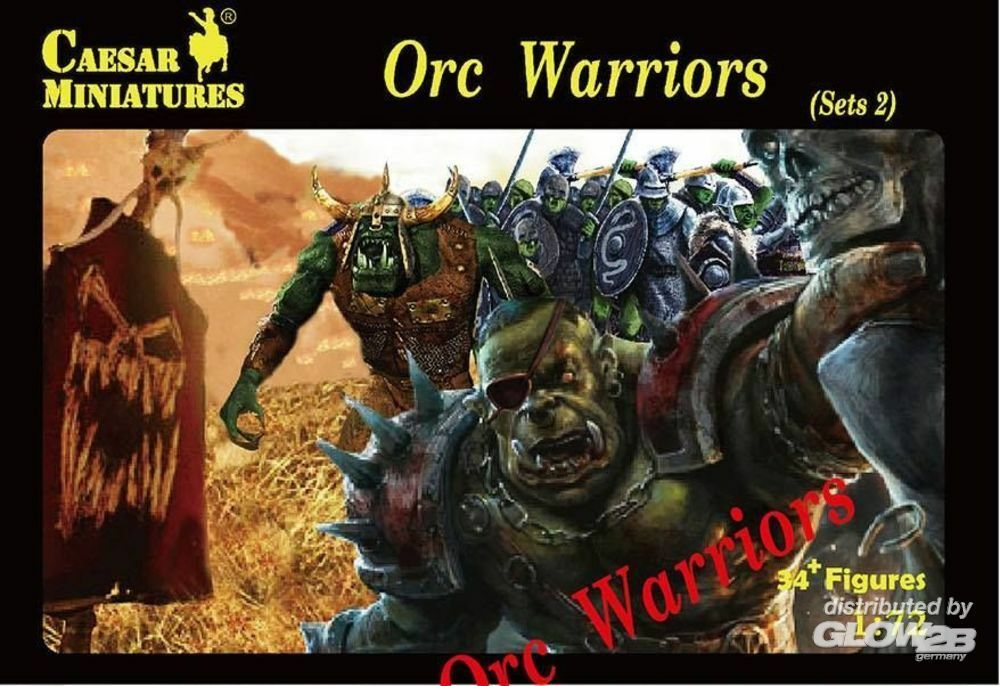Caesar Miniatures F109 Orc Warriors Sets2 in 1:72