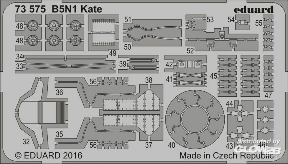 Eduard Accessories 73575 B5N1 Kate for Airfix in 1:72