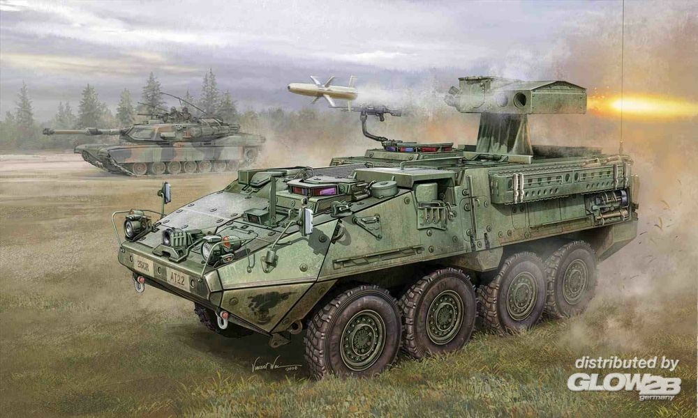 Trumpeter 00399 M1134 Stryker Anti Tank Guided Missile (ATGN) in 1:35