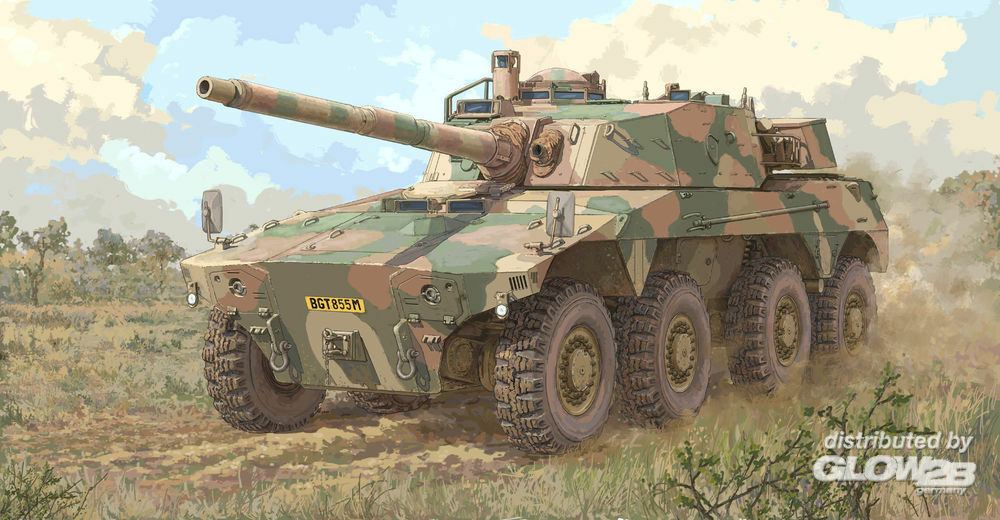 Trumpeter 09516 South African Rooikat AFV in 1:35