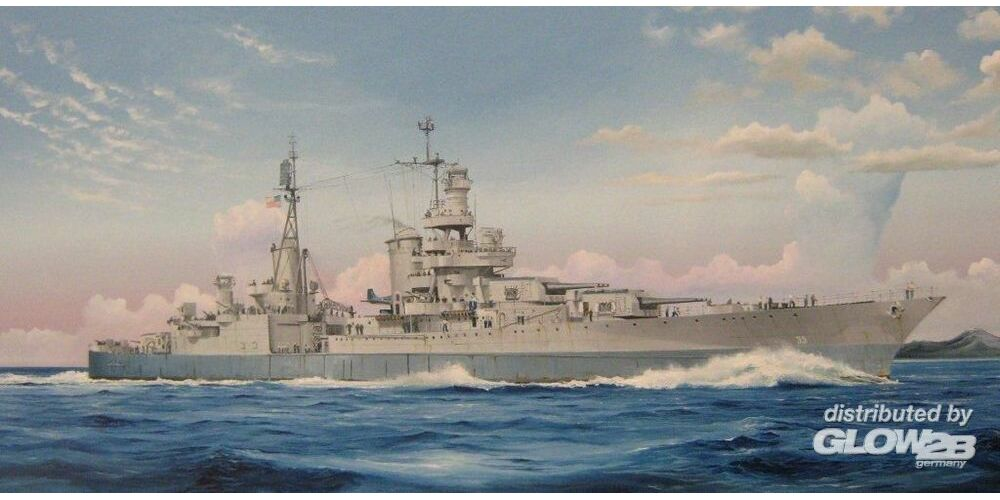 Trumpeter 05326 USS Indianapolis CA-35 1945 in 1:350