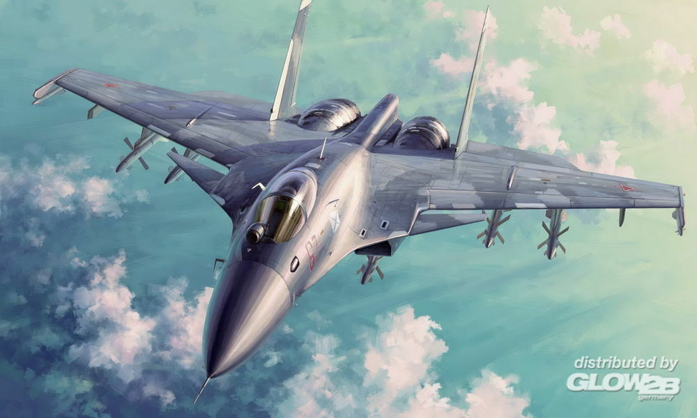 Trumpeter 01667 Russian Su-33 Flanker D in 1:72
