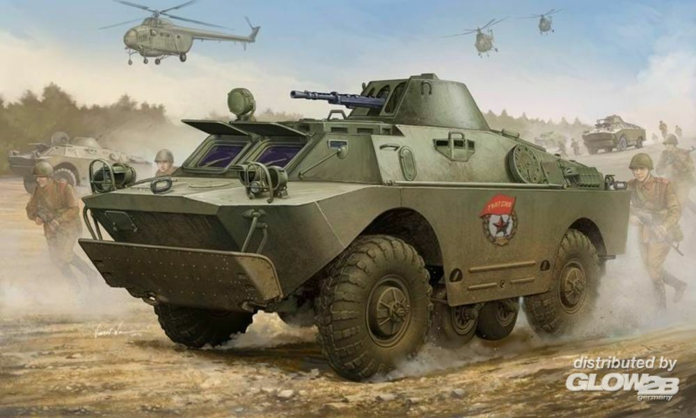 Trumpeter 05511 Russian BRDM-2 early in 1:35