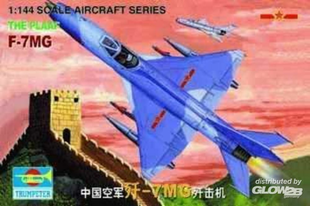 Trumpeter 01327 J-7 MiG China in 1:144
