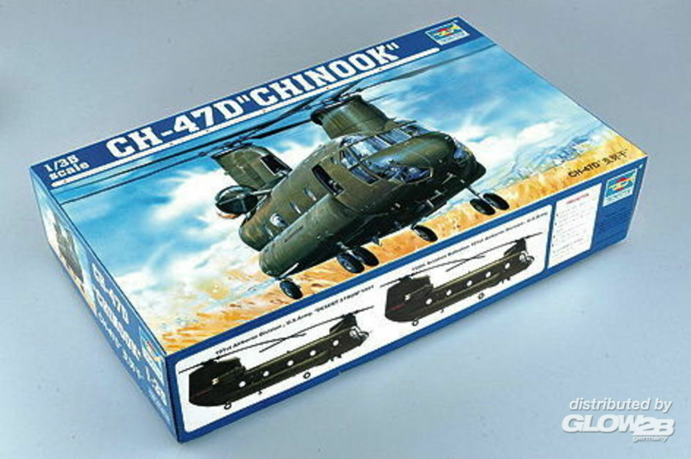 Trumpeter 05105 CH-47D Chinook in 1:35