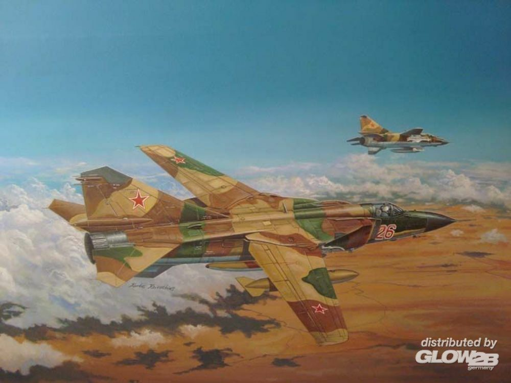 Trumpeter 02855 Russian MIG-23ML Flogger-G in 1:48