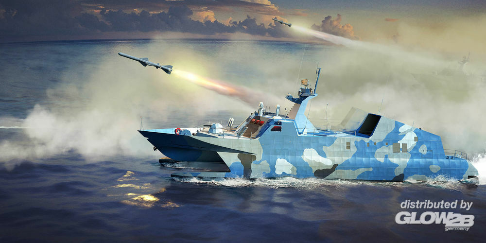 Trumpeter 00108 PLA Navy Type 22 Missile Boat in 1:144