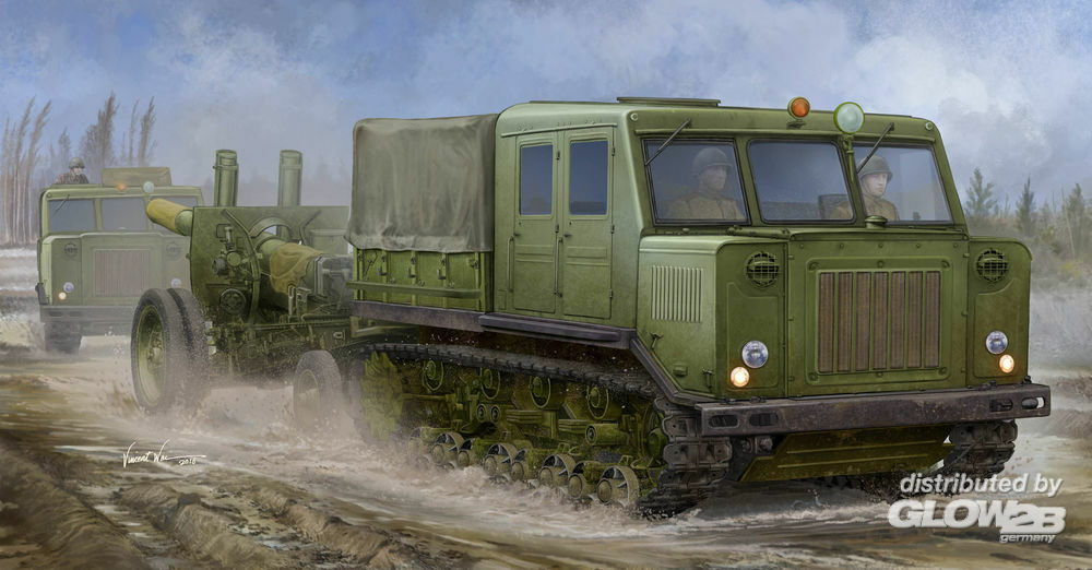 Trumpeter 09514 Russian AT-S Tractor in 1:35