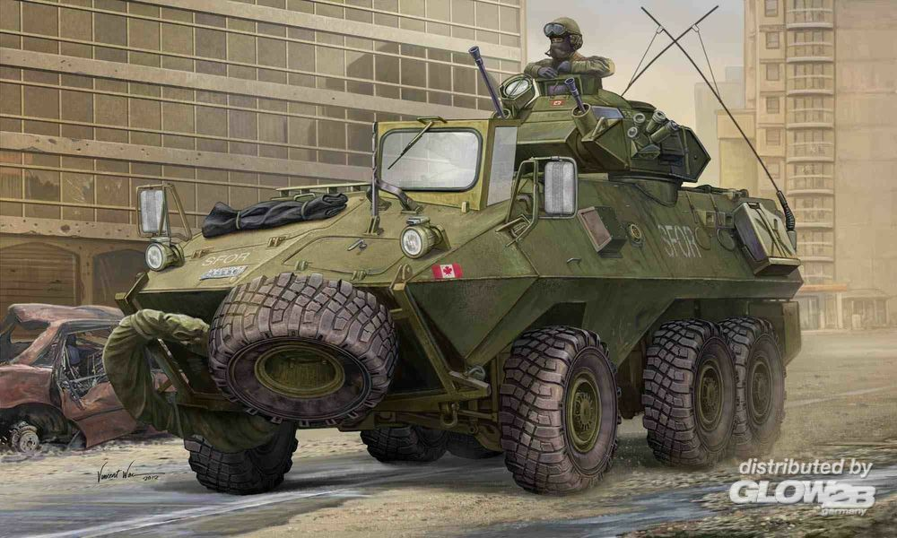 Trumpeter 01505 Canadian Grizzly 6x6 APC in 1:35