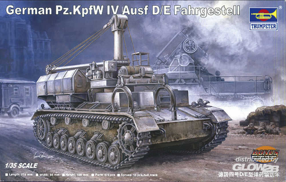 Trumpeter 00362 German Pz.Kpfw IV Ausf. D/E Fahrgestell in 1:35