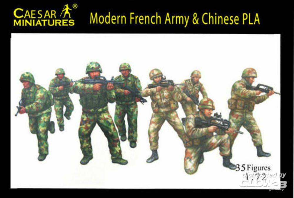 Caesar Miniatures H059 Modern French Army with Chinese PLA in 1:72